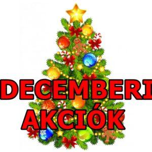 Decemberi akciók
