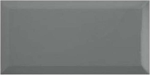 RIBASALBES Bisel Dark Grey Brillo 10×20