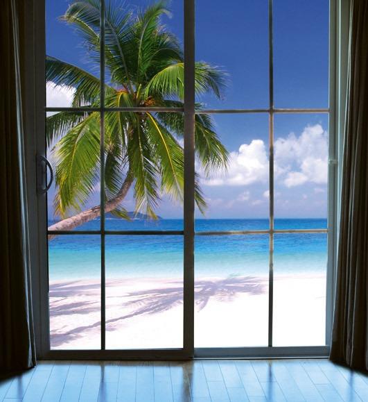 Beach window viewMS-3-0203