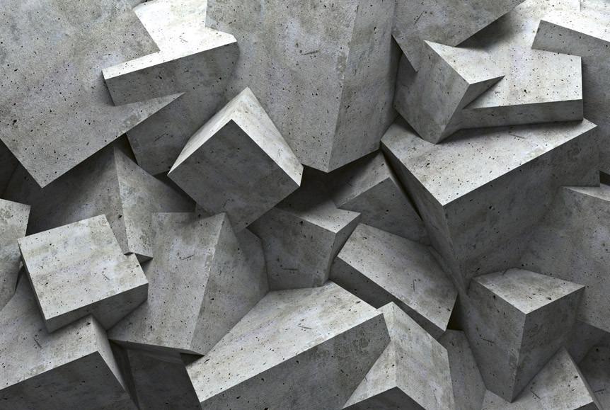 Concrete cubeMS-5-0176