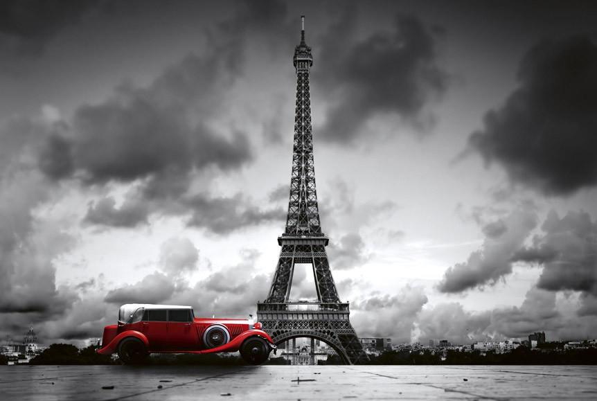 retro car in parisMS-5-0027