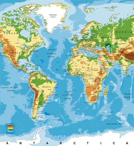 world mapMS-3-0261
